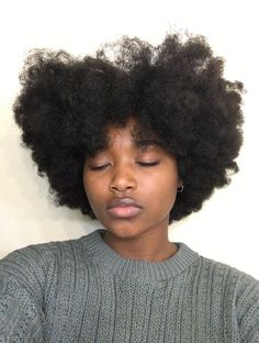 I exist to remind black girls of our ranking of being the finest out curls Natural Hair Tips, Natural Hair Growth, Natural Hair Journey, Natural Hair Styles, Natural Beauty, Big Hair, Your Hair, Type 4 Hair, Natural Hair Inspiration