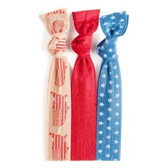 Don't forget to pack a Savannah hair tie set for all of your travels! Our U.S. map, cherry and denim star hair ties are trip essentials! #twistbands