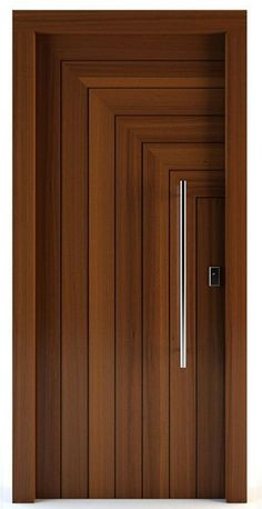 Modern Door Design for Bedroom Lovely Modern Interior Doors Ideas 14 Modern Wooden Doors, Wooden Door Design, Wooden Front Doors, Modern Front Door, Barnwood Doors, Internal Wooden Doors, Custom Wood Doors, Wooden Door Hangers, Front Entry