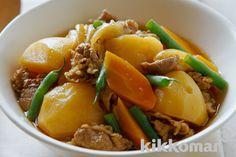 だしいらずの肉じゃが Niku zyaga (meat and potato stew)