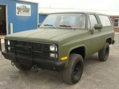1986 Chevrolet M1009 CUCV Blazer K5 military 4x4, US $7,980.00, image ...