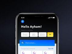 Meetz — Mobile App User Interface Implementation on Behance Ios Design, Mobile Ui Design, Human Interface Guidelines, Black App, Ios Ui, Website Design Layout, Application Design, User Interface Design, Interactive Design