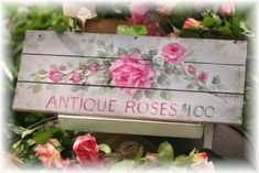 Antique Roses http://marymcshane.hubpages.com/hub/101-Prettiest-Pinterest-Shabby-Chic-My-Picks