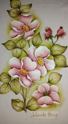 Oriental Flowers, Fabric Paint Designs, Task To Do, Flora, Patches, Hand Painted, Barbie, Painting, Painting Carpet