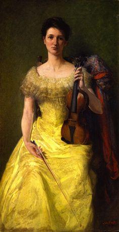 ♪ The Musical Arts ♪ music musician paintings - John Ferguson Weir   The Rest