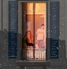 Pascal Campion「The start of a long winter」 Winter Illustration, Family Illustration, Illustration Art, Pascal Campion, Buch Design, My Sun And Stars, Kids Story Books, Long Winter, American Artists