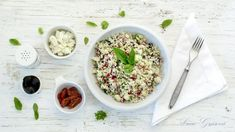 Recept: Květákový kuskus   od Lucky Grusové Whole 30, Low Carb Keto, Lchf, Sugar Free, Risotto, Grains, Ethnic Recipes, Food, Hoods
