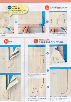 sewing techniques S Sewing Tools, Sewing Tutorials, Sewing Projects, Japanese Sewing Patterns, Dress Sewing Patterns, Techniques Couture, Sewing Techniques, Sewing Collars, Sewing Pants