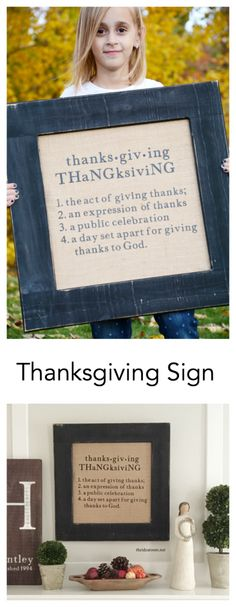 Thanksgiving Decorations | Thanksgiving Sign