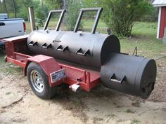 Now that's a tailgating BBQ pit.