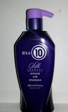 Its a 10 Miracle Silk Shampoo 10 Ounces >>> To view further for this item, visit the image link.(This is an Amazon affiliate link and I receive a commission for the sales)