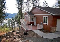 Crow's Nest Retreat is a perfect base of operations to enjoy Lake CDA and the Trail of the Coeur d'Alenes.