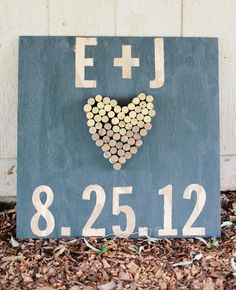 11 Ways To Turn Wine Corks Into Wedding Decor | Photo by: Marta Locklear Photography | TheKnot.com