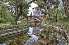 #Parque El Capricho de la duquesa de #Osuna en #Madrid. Jardín histórico artístico Siglo XVIII