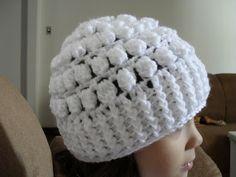 Dena's Crochê: Gorros e toucas de Crochê com Pap e Gráfico