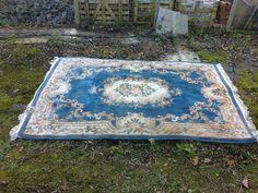 1.8x3m £80 Preloved | patterned rug for sale in Wootton Wawen, Warwickshire