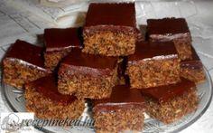 Almás, diós kevert csokimázzal recept fotóval