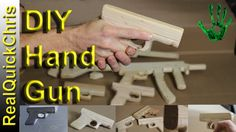 How To Make A Toy Wooden Handgun Very Fun Little Project Easy Woodworking Build