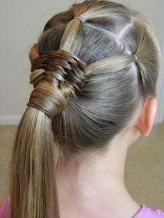 Native Drum Weave Ponytail / GIVEAWAY / What inspires you? / Bonita Hair Do