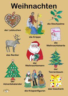Weihnachten (Wortschatz)