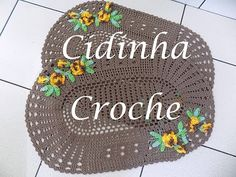 Croche -Jg De Tapetes Tayna- Passo A Passo -Parte 4/4 - YouTube