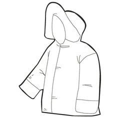 Zimní oblečení - Předškoláci - omalovánky, pracovní listy » Předškoláci - omalovánky, pracovní listy