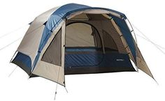 4 Person Tent Wilderness Lodge  Dome Style Vestibule For Added Element Protection -- Click image for more details.Note:It is affiliate link to Amazon.