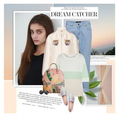 """""""Dream catcher"""" by aane1aa ❤ liked on Polyvore featuring STELLA McCARTNEY, Duffy, Burberry, Kate Spade and Brixton"""