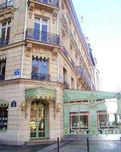 Ladurée - for macarons at Avenue des Champs-Élysées