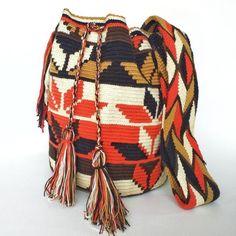 Crochet Bags, Handicraft, Bucket Bag, Tapestry, Etsy, The Originals, Pattern, Cotton, Stuff To Buy