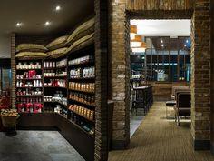 中國瀋陽Starbucks Zhongxing星巴克中興店面設計圈展示設計時代網-Powered by thinkdo3
