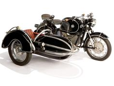 #1958 #BMW #Motorcycle with Steib #Sidecar