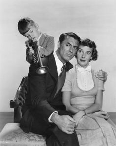 "Cary Grant and Betsy Drake in ""Room for One More"", (1952)"