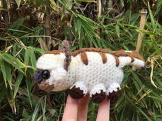 Crocheted Appa amigurumi - Sky Bison Avatar the Last Airbender