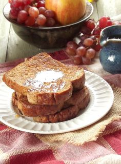 Vegan Coconut Milk French Toast with Whiskey-Infused Maple Syrup