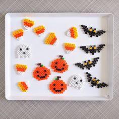 Halloween perler beads by aprettycoollife