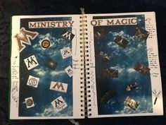 Ministry of Magic mood board