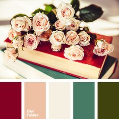 vintage color palettes with color ideas for decoration your house, wedding, hair or even nails. Maroon Color Palette, Vintage Colour Palette, Colour Pallette, Burgundy Color, Colour Schemes, Vintage Colors, Color Combos, Color Patterns, Colour Peach