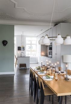 A Danish home dressed for the holidays | FrenchByDesign