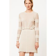 Dagmar Elisa Dress ($655) ❤ liked on Polyvore featuring dresses, red, short, red long sleeve dress, red cocktail dress, long sleeve dresses, long sleeve backless dress and open back cocktail dress