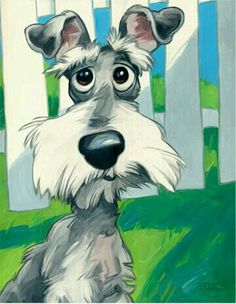 40 Cute Cartoon Dog Caricature Images HDHave you ever wondered we why so many people across the world keep Cute Cartoon Dog Caricature Images HD on their mo Cartoon Dog Drawing, Schnauzer Art, Image Hd, Dog Illustration, Dog Paintings, Dog Portraits, Whimsical Art, Dog Art, Cute Cartoon