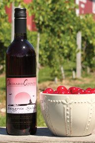 I LOVE this wine!!  Orchard Country Winery & Market offers award-winning wine and specialty food product tasting in Door County, Wisconsin.