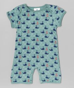 Gray Whale Romper - Infant