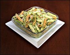 Salada de Penne ao Molho de Rúcula