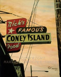 Nick's Famous Coney Island on SE. Hawthorne, Portland, OR. I haven't been here in 20 years! It's time to take you there!