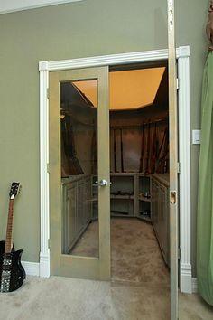 1000 images about cool closets safes on pinterest gun for Closet world garage