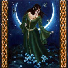 RHIANNON - WELSH LUNAR GODDESS - BY CATHERINE MOORE