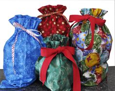 Recycled Cloth Gift Bags. Americans throw away 25% more trash during the Thanksgiving to New Year's holiday period than any other time of year. The extra waste amounts to 25 million tons of garbage, or about 1 million extra tons per week! Our Circkles Sacks are made from recycled materials and 10% off profits made from the sale of them is donated to our featured U.S. nonprofit of the year.