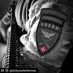 Show us your patch pics! #Repost @gritcitycustomknives with @repostapp  Run your gun  not your mouth #gritcitycustomknives #GCCK #pewpewlife #pewpewpew #soconusa #K137 #teamkraken #moralpatch #ar15 #253 #pew53  #pnw