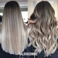 28 Trendy Hair Color Flamboyage Trends Balayage - All For Hair Color Trending Hair Color Balayage, Blonde Balayage, Hair Highlights, Bayalage, Cabelo Ombre Hair, Ash Blonde Hair, Blonde Brunette, Pretty Hairstyles, Hair Lengths
